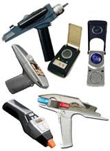 Star Trek Phaser and Communicator