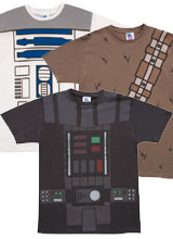 Junk Food Star Wars costume t-shirt