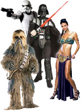 Star Wars Darth Vader costumes