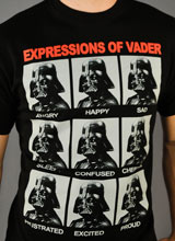 Darth Vader Star Wars t-shirt