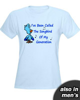 Brennan Songbird of My Generation Quote tee