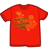 Iron Chef Superbad t-shirt