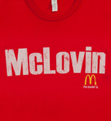 McLovin Mickey Dees Superbad t-shirt