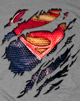 Superman Torn t-shirt