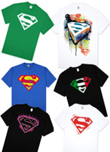 Superman Shield t-shirts