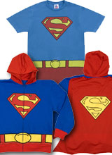 Costume Superman t-shirt and Hoodie