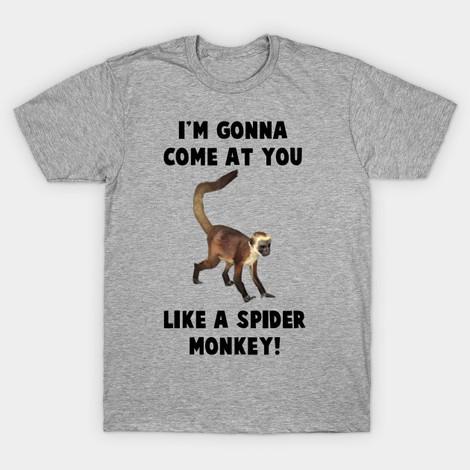 spider monkey talladega nights t-shirts