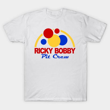 Ricky Bobby Pit Crew Talladega Nights tee
