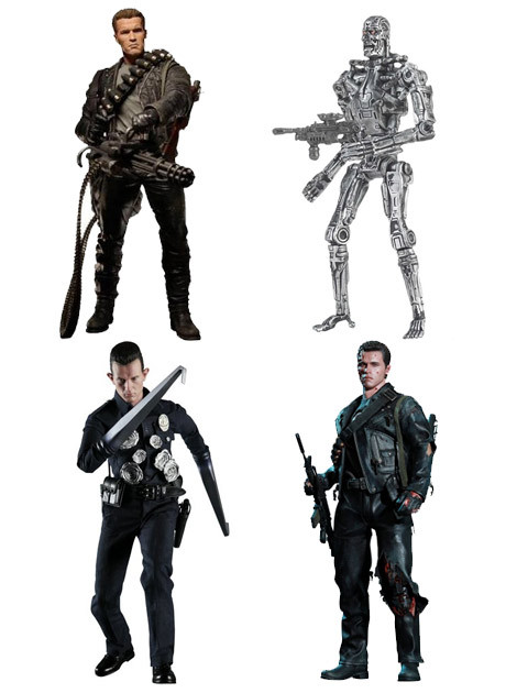 Cyborg Terminator Action Figure