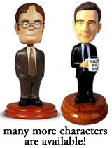 Dwight Schrute Bobblehead, Michael Scott
