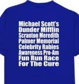 Dunder Mifflin t-shirt logo