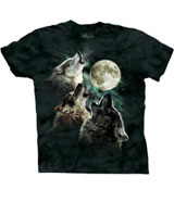 Dwight Schrute Three Wolf Moon t-shirt