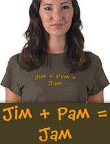Jim and Pam t-shirt