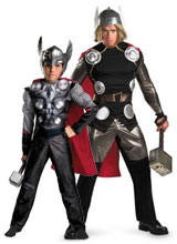 Thor costumes and accessories