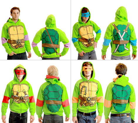 Teenage Mutant Ninja Turtles Costume Hoodies