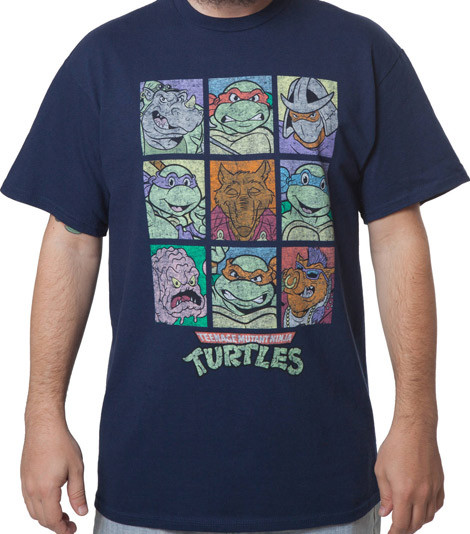 TMNT Characters shirts