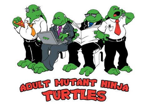 Adult ninja turtle shirt - photo#25