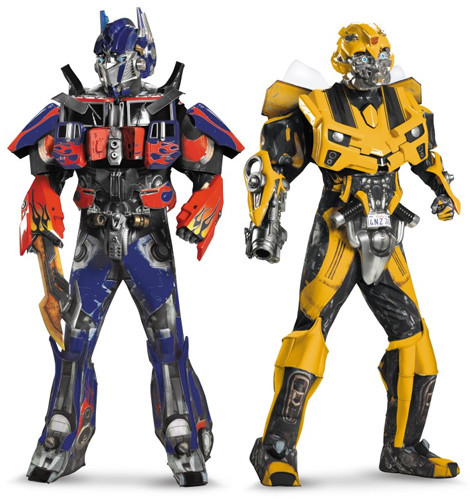 Transformers Costumes Kids and Adult