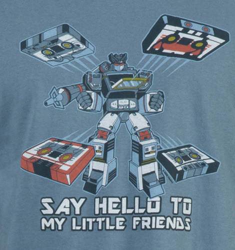 Transformers Soundwave shirt