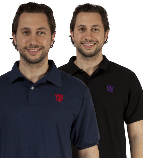 22e78f1af7b Transformers Polo Shirts