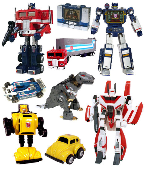 Transformers Movie Action Figures