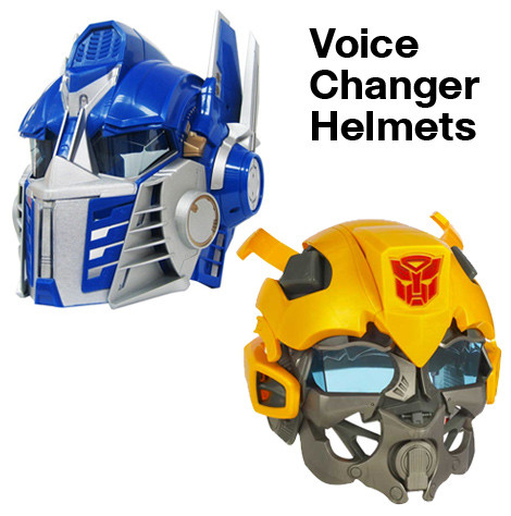 Transformers Voice Changer Helmets