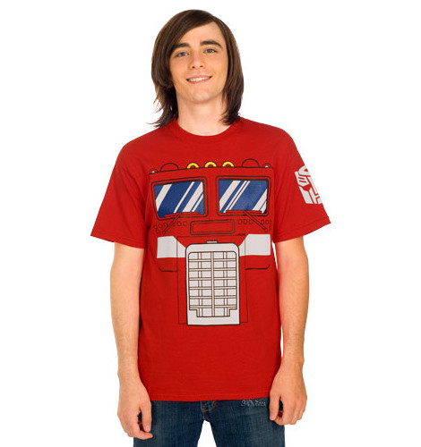 Transformers Optimus Prime Costume tee