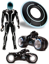 Tron Frisbee Light Disc, Tron Action Figures, Toys