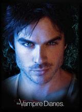 Damon Logo Vampire Diaries tee