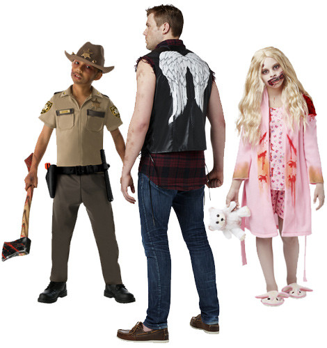 Walking Dead Costumes and Masks