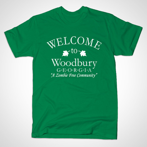 Walking Dead Welcome to Woodbury t-shirt