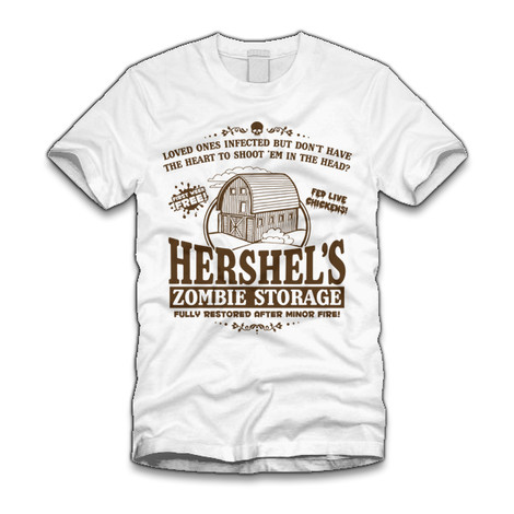 The Walking Dead Hershel Barn shirt