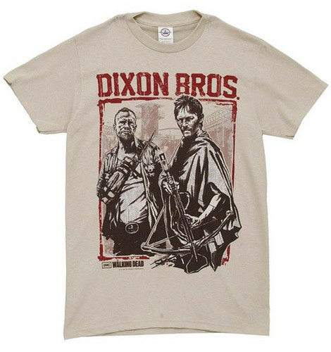 The Walking Dead Dixon Bros. t-shirt