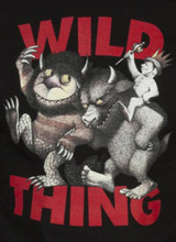 Where the Wild Things Are Book Art tee