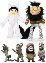 Where the Wild Things Are Plush Moishe, Max Action Figures