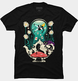 Alice Into Wonderland shirt