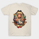 Lady Mad Hatter tee
