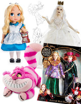 Alice in Wonderland Plush Stuffed Animals