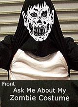 Zombie Costume t-shirt
